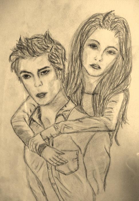 Robert Pattinson, Kristen Stewart by joannna